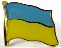 Ukraine Flaggen Pin Anstecker,1,5 cm,Neu mit Druckverschluss