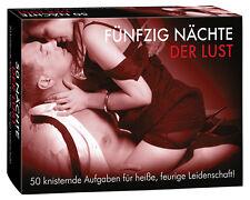 50 Nächte der Lust Erotische Spiele