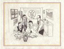 BIRTH OF Series - Omega Psi Phi Print - BIRTH OF OMEGA (Version 1)