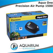 Aqua One Precision 1500 Aquarium Air Pump  Fish Tank Aerator, Oxygen, Bubbles