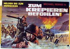 ZUM KREPIEREN BEFOHLEN (A0-Pl. '72) - MICHAEL RENNIE / BOB SULLIVAN