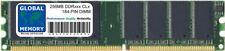256MB DDR 266MHz PC2100 184-PIN DIMM MEMORY RAM FOR DESKTOPS/PCs/MOTHERBOARDS