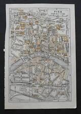 Antica Stampa=Topografica= PISA =Scala1:14000-1909c.