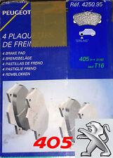 ORIGINAL Bremsbeläge, Bremsklötze Girling OE 425095, Peugeot 405