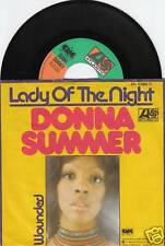 DONNA SUMMER Lady Of The Night 45/GER/PIC