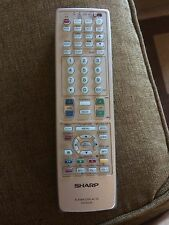 SHARP PLASMA TV REMOTE CONTROL G1678CESA RRMCG1678CESA PZ-43MR2UL PZ-50HV2