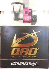 NEW QAD ULTRA PRO SERIES HDX PINK COLOR ARROW REST HD-X