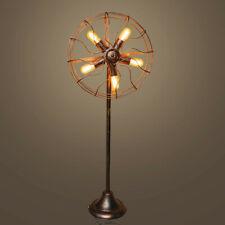 Vintage Industrial Steampunk Retro Style Floor Lamp Light Iron Metal Pipe Gift