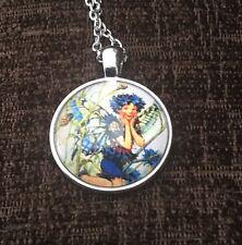 Vintage Fairy Design Fashion Necklace