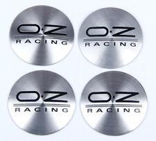 4Pcs 56mm O.Z OZ Racing Wheels Center Hub Cap Emblem Badge Alloy Decal Sticker
