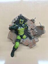 Marvel Legends Venom the Vault Prison wall action figure Base Toybiz