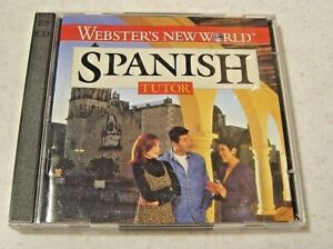 Macmillan Webster's New World Spanish Tutor 2 CD ROMS (Pre-Owned)