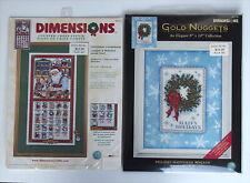 Dimensions Cross Stitch ADVENT CALENDAR Kit CHRISTMAS COUNTDOWN USA + BONUS KIT