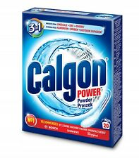 Calgon Powder Water Softener 500g Protects from Limescale, Dirt, Odours 20 Loads