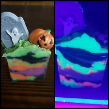 Happy Halloween Graveyard Tombstone Pumpkin Bar Cold Process Soap trick or treat