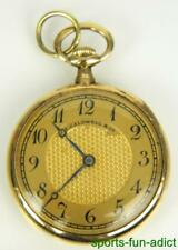 18K VACHERON CONSTANTIN Solid Gold J.E CALDWELL Antique Open Face Pocket Watch