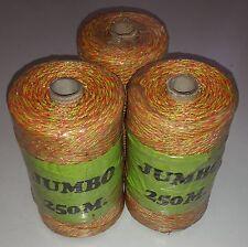 Weidezaunlitze Premium Marke Jumbo - 750m gelb/rot