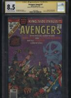 Avengers Annual #7 CGC 8.5 SS Jim Starlin classic THANOS Endgame INFINITY WAR