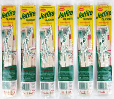Lot of 6 Guillow's Jetfire Balsa Wood Toy Flying Airplanes Made in USA  GRP-0119
