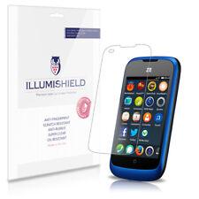 iLLumiShield Phone Screen Protector w Anti-Bubble/Print 3x for ZTE Open