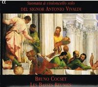 Vivaldi: Sonate Für Violoncello Solo / Bruno Cocset, Les Basses Réunies - CD