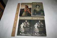 4 LIBROS DE ISABEL ALLENDE, SIN USAR,  LEER. VER FOTO