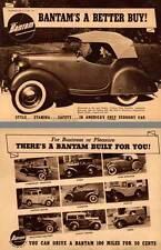 American Bantam 1941 - Bantam's A Better Buy!