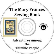 Mary Frances Sewing Book - Vintage Doll Patterns on CD