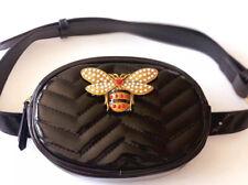 Bee Belt Bag (Black)