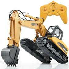 RC Remote Control Car Toy Excavator Coupler Construction Digger Engineer Vehicle