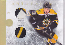 2012-13 Artifacts Horizontal Jerseys Patches Gold Spectrum #65 Milan Lucic 2/9