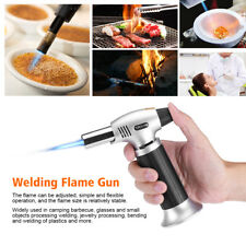 Barbecue BBQ Culinary Butane Flame Torch Welding Gun Picnic Kitchen Blow Food