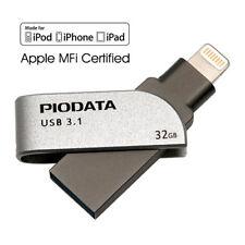iXflash 32 GB MFi USB 3.0 Lightning OTG i Flash Drive for iPhone Mac IXF-032-SG
