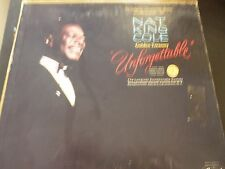"Nat King Cole ""Unforgettable"" Vinyl Record Album Great Condition"