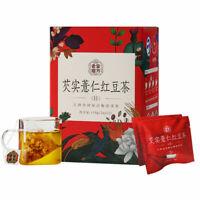 老金磨方 芡实薏仁红豆茶 110g Chinese Healthy Food 芡实薏仁红豆茶谷物早餐 除湿 代餐粉 healthy tea