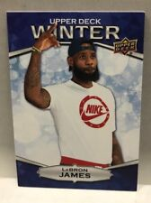 2018 Upper Deck UD Winter LEBRON JAMES Basketball #W-3 Unscratched Bounty