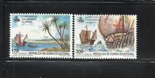 GUINEA ECUATORIAL. Año: 1990. Tema: V CENTº DEL DESCUBRIMIENTO DE AMERICA.