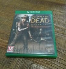 The Walking Dead Season  Microsoft Jeu Xbox One  version française