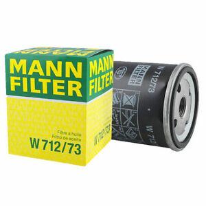 Mann-filter Oil Filter W712/73 fits MAZDA 3 BK 2.0