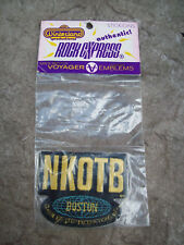 New Kids on the Block Stick-on Patch Boston 1991 Nos
