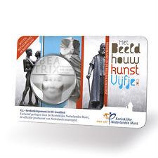 ** Coincard 2012 Beeldhouwkunst vijfje 5 euro Nederland KNM - BU Kwaliteit**