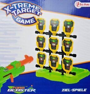Zielscheibe für Nerf Guns  Dart Blaster Schaumstoffpistolen Zielspiel  N-Strike