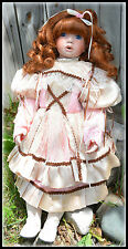 """Janis Berard 24"""" Brice Porcelain Doll Retired Limited Edition # 0470/2000"""