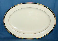"""LENOX Presidential Collection Union 16"""" Oval Serving Platter"""