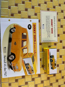 """coffret collector dinky toy atlas 2014""""renault 4 L p & t"""" 561 NEUF"""