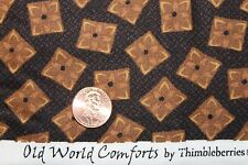 """""""OLD WORLD COMFORTS"""" THIMBLEBERRIES QUILT FABRIC BTY FOR RJR FABRICS 1048-3"""