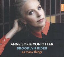 ANNE SOFIE VON OTTER-SO MANY THINGS   CD NEW+ STING/COSTELLO/MEHLDAU/BJÖRK/BUSH