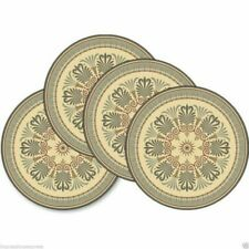 Victorian Ornament Round Coasters (Set of 4)