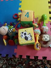 Newborn Toys Selection including Fisher price?