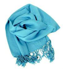 Pashmina Scarf 100% Viscose Plain Wrap Shawl Stole Scarf Many Colours Available